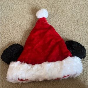 Disney Kids Mickey Mouse Santa Hat